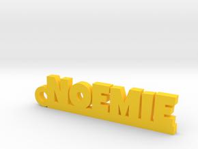 NOEMIE Keychain Lucky in Yellow Processed Versatile Plastic