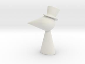 Main Character in White Natural Versatile Plastic