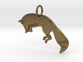 The fox in Natural Bronze