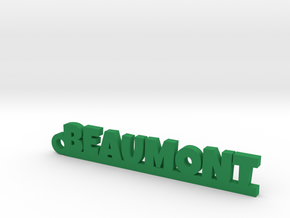 BEAUMONT Keychain Lucky in Green Processed Versatile Plastic