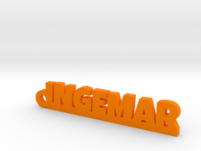 INGEMAR Keychain Lucky in Orange Processed Versatile Plastic