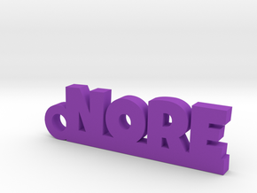 NORE Keychain Lucky in Purple Processed Versatile Plastic