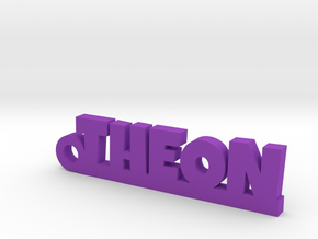 THEON Keychain Lucky in Purple Processed Versatile Plastic