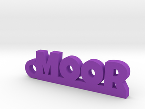 MOOR Keychain Lucky in Purple Processed Versatile Plastic
