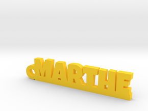 MARTHE Keychain Lucky in Yellow Processed Versatile Plastic