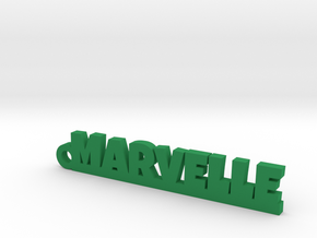 MARVELLE Keychain Lucky in Green Processed Versatile Plastic