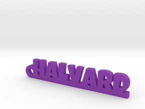 HALVARD Keychain Lucky in Purple Processed Versatile Plastic