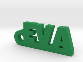 EVA Keychain Lucky in Green Processed Versatile Plastic