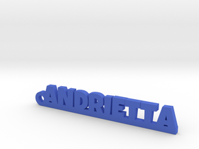 ANDRIETTA Keychain Lucky in Blue Processed Versatile Plastic