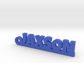 JAXSON Keychain Lucky in Blue Strong & Flexible Polished