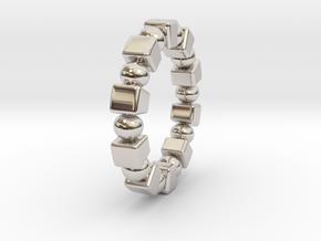 Claudette - Ring in Platinum: 9 / 59