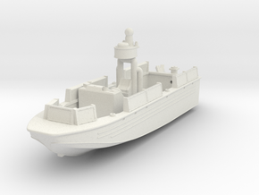 1/144 USN Riverine Assault Boat  - Coastal Riverin in White Natural Versatile Plastic