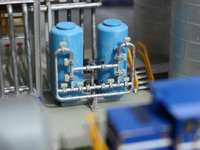 N Scale Sand Filter in Frosted Ultra Detail