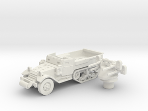 M3 Half-track roller (Usa) 1/87 in White Strong & Flexible