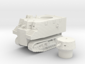 Bob Semple tank (New Zealand) 1/100 in White Natural Versatile Plastic