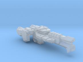 Gettysburg Heavy Frigate - 1:7000 in Smooth Fine Detail Plastic