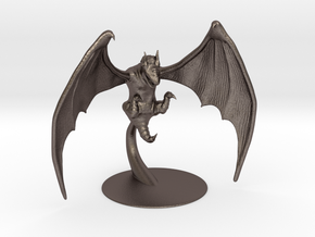 Obb Miniature in Polished Bronzed Silver Steel: 1:60.96
