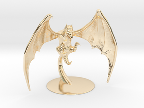 Obb Miniature in 14K Yellow Gold: 1:60.96