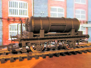 GWR Cordon Part 7 Chassis in White Processed Versatile Plastic
