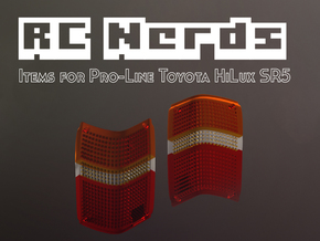 RCN016 Rear lights for Pro-Line Toyota SR5  in Frosted Ultra Detail
