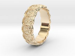 Daisy - Ring in 14K Yellow Gold: 6.75 / 53.375
