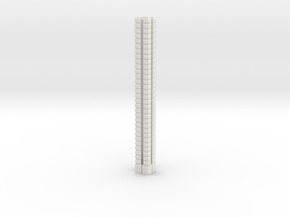 HOea02 - Architectural elements 1 in White Natural Versatile Plastic