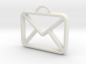 You've Got Mail in White Natural Versatile Plastic