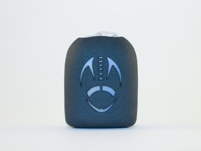 Football 2 - Omnipod Pod Cover in Black Natural Versatile Plastic