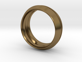 Modern+Fantom in Polished Bronze: 6 / 51.5