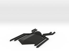Spiderman Homecoming Emblem in Black Natural Versatile Plastic