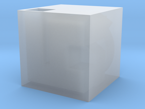 3D Maze v2 in Smooth Fine Detail Plastic