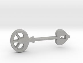 Love Key III in Aluminum