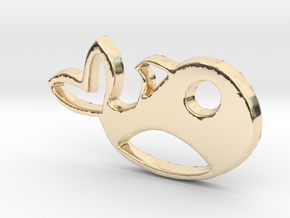 MObby in 14K Yellow Gold