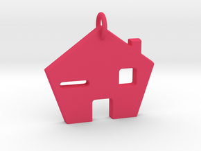 Home Sweet Home! in Pink Processed Versatile Plastic
