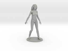 Princess Ariel Miniature in Raw Aluminum: 1:60.96