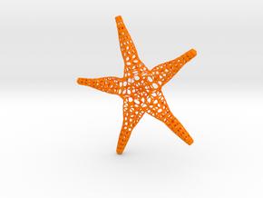Estrellalinda in Orange Processed Versatile Plastic