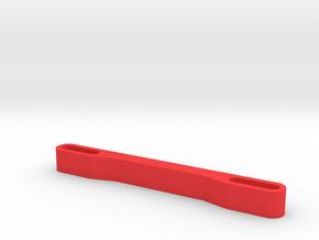 Mavic Pro propeller lock for transportation  in Red Processed Versatile Plastic