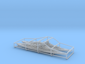 KM BB [Bundle] Bismarck + Tirpitz in Smooth Fine Detail Plastic: 1:3000