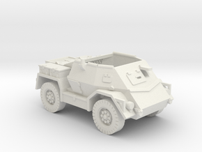 Pattern Wheeled Carrier (New Zealand) 1/87 in White Natural Versatile Plastic
