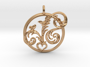 Love Grows The Seed Of Love in Polished Bronze
