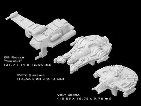 (Armada) Transports Set IV in Smooth Fine Detail Plastic
