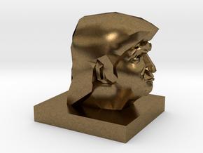 Trump Head in Natural Bronze: 1:10