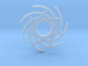 Seven Lines I - Gitinbel in Smooth Fine Detail Plastic