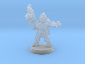 Space Mercenary - 28mm Heroic in Smooth Fine Detail Plastic