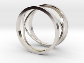 New style ring in Platinum: 8 / 56.75