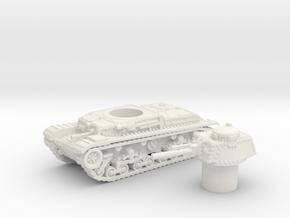 Panzer 35(t) (Czechoslovakia) 1/87 in White Natural Versatile Plastic