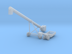 MK100x40 Truck Loader Auger HO Scale in Smooth Fine Detail Plastic