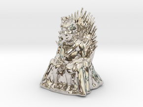 Donald Trump as Game of Thrones Character in Rhodium Plated Brass: Small
