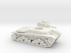 Panzer 35(t) (Czechoslovakia) 1/144 in White Natural Versatile Plastic