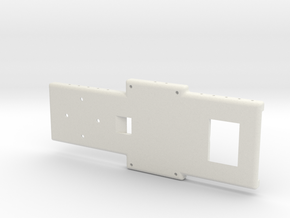 Overall Baseplate BIGSS (1) in White Natural Versatile Plastic